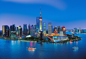 Fototapet 00135 Panorama Shanghai0