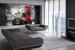 Fototapet 00698 Taxi si autobus in Londra [2]