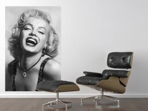 Fototapet 00667 Marilyn Monroe (alb negru)2