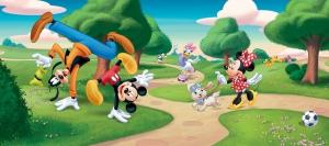 Fototapet FTDh 0623 Mickey & Goofy [0]