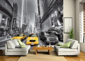 Fototapet FTS 1310 Yellow Cab1