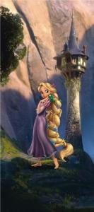Fototapet FTDv 0232 Rapunzel [0]