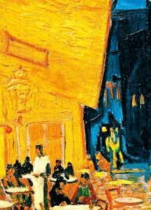 Fototapet 00420 Terasa Cafenelei Noaptea - Van Gogh [1]