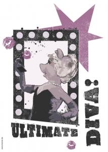 Sticker decorativ 14003 Diva1