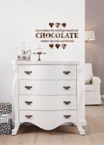 Sticker decorativ 17048 Chocolate [0]