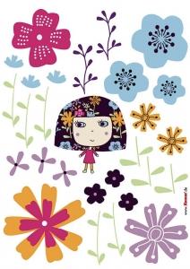 Sticker decorativ 17002 Flowerine [1]