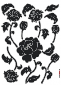 Sticker decorativ 17001 Tiffany1