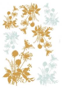 Sticker decorativ 19002 Flori de camp1