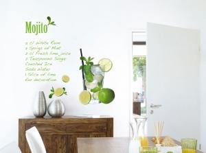 Sticker decorativ 17708 Mojito0