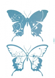 Sticker decorativ 17017 Farfalle [1]
