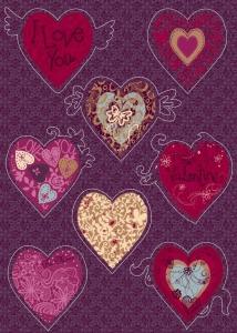 Sticker decorativ 17031 Valentine [0]
