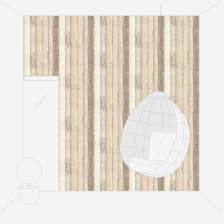 Tapet 8951-10 Wood & Stone [6]