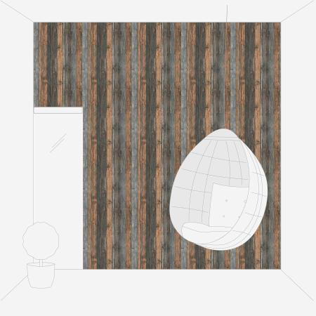 Tapet 9086-12 Wood & Stone [4]