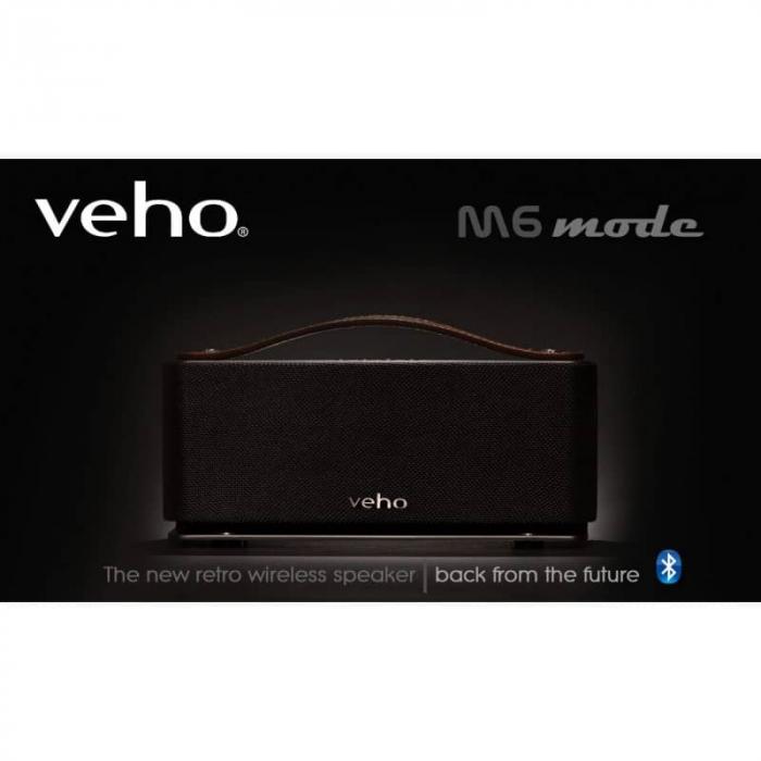 Boxa portabila wireless Bluetooth Veho M6 Retro [1]