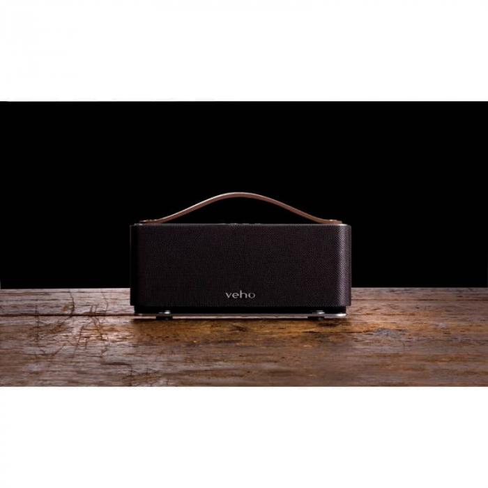 Boxa portabila wireless Bluetooth Veho M6 Retro [8]