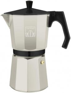 Cafetiera Cecotec Mimoka 600, 300 ml, 6 cani de cafea, inductie, Bej [0]