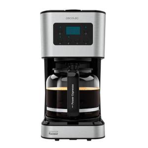 Cafetiera cu Filtru , CECOTEC 1555, 950W, 1.5 L, Cana Sticla, Timmer Programabil, mentine cafeaua fierbinte, Argintiu Negru [0]