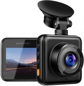 Camera auto DVR Apeman C420, Full HD, Unghi 170 grade G-Sensor, Mod parcare, Filmare in bucla [0]