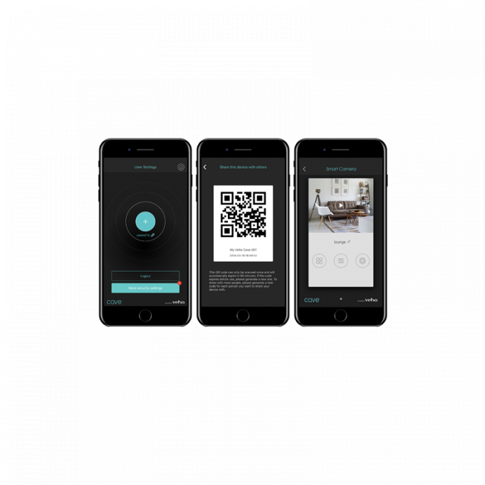 Camera IP wireless cu autodetectie Veho Cave [1]