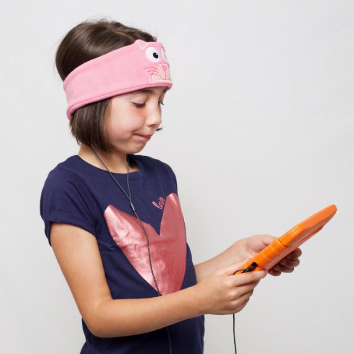 Casti audio bentita pentru copii, cu limitare volum, Snuggly Rascals [8]