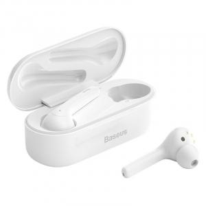 Casti audio In-Ear Baseus W07, True Wireless, Bluetooth 5.0,  TWS, alb [0]