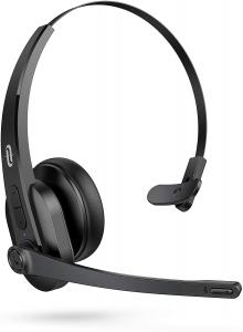 Casti wifi TaoTronics TT-BH041, Microfon, AI Noise Cancelling, Call Center, Bluetooth 5.0, functionare 34 ore [0]