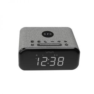 Ceas cu Radio FM VAVA 5 in 1, Boxa Bluetooth, Incarcator Wifi [0]