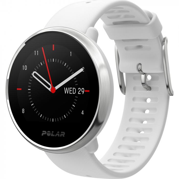 Ceas smartwatch Polar Ignite White/Silver marime S [0]