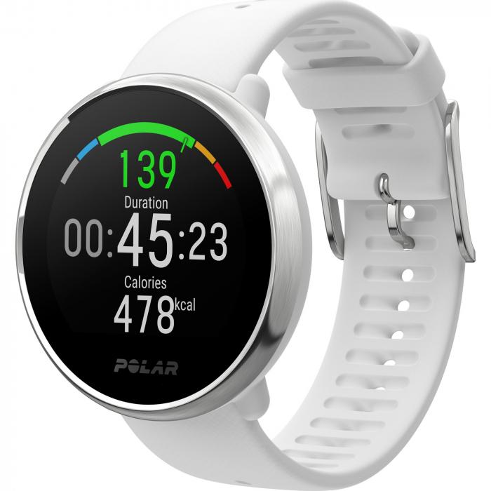 Ceas smartwatch Polar Ignite White/Silver marime S [3]
