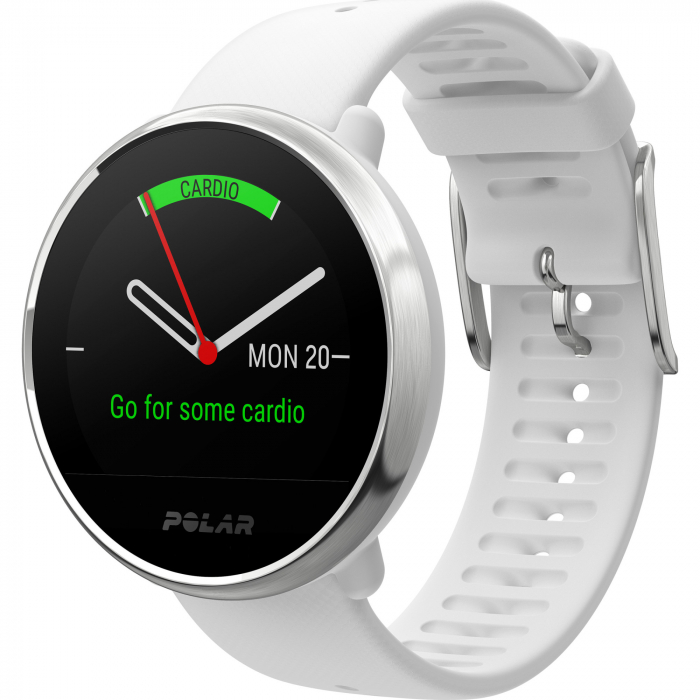 Ceas smartwatch Polar Ignite White/Silver marime S [5]