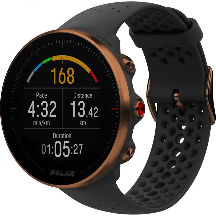 Ceas smartwatch Polar Vantage M, GPS, Medium/Large, Black/Copper [0]