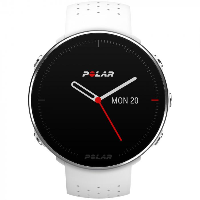 Ceas smartwatch Polar Vantage M, GPS, Medium/Large, White [1]