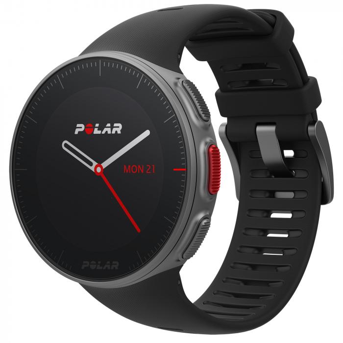Ceas smartwatch Polar Vantage V, GPS, Senzor H10 HR, Black [0]