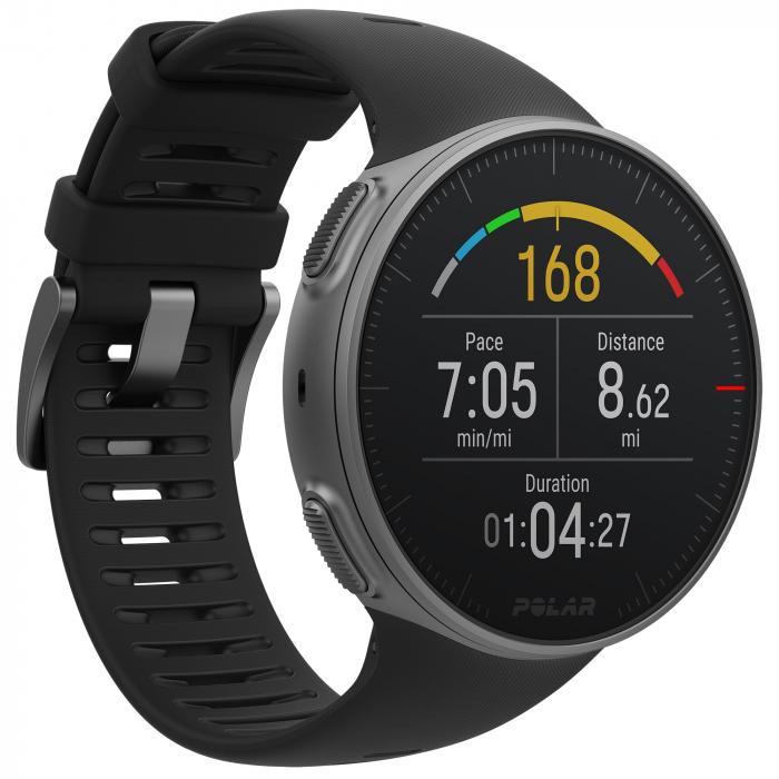 Ceas smartwatch Polar Vantage V, GPS, Senzor H10 HR, Black [1]