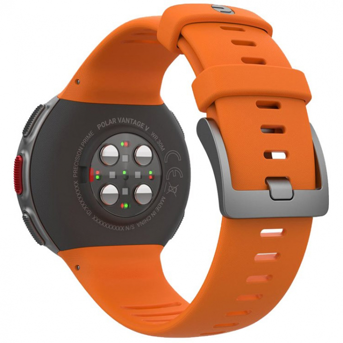 Ceas smartwatch Polar Vantage V, GPS, Senzor H10 HR, Orange [2]