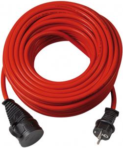 Cordon prelungitor Brennenstuhl BREMAXX , IP44, 25m, IP44, AT-N05V3V3-F 3G1.5 - Rosu [0]