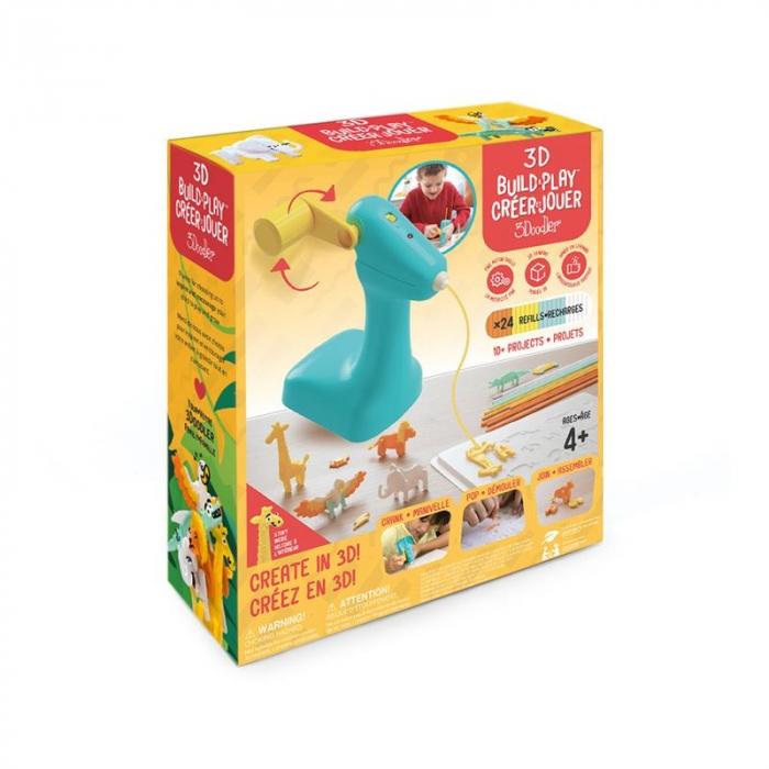 Creion 3D pentru copii 3Doodler 3D Build and Play 4+ [1]