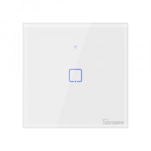 Intrerupator Smart  cu Touch  Sonoff T0 EU TX , WiFi, (2 canale) [0]