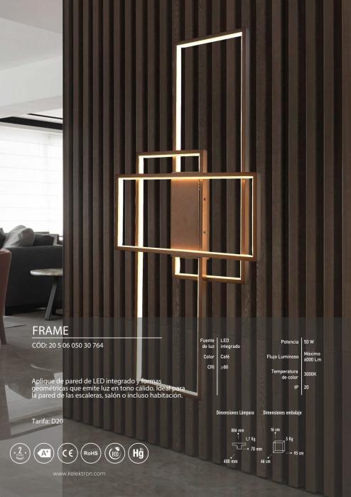 Kelektron Lampa LED Frame IP20 PAR. 50W 40K CF. [2]