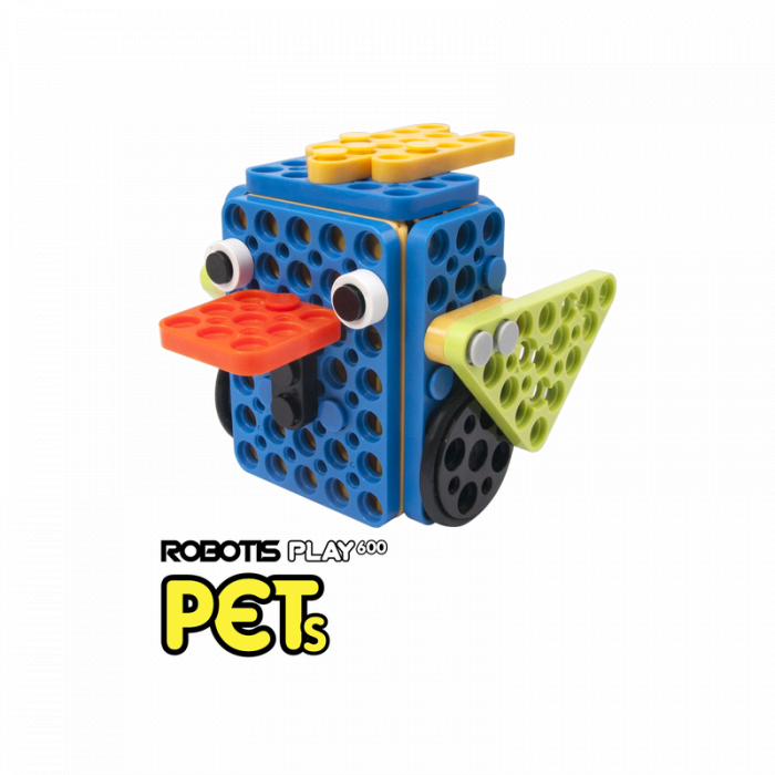 Kit robotic educational Robotis Play 600 PETs [6]