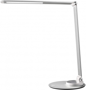 Lampa de birou cu LED TaoTronics TT-DL22, incarcare USB, 6 niveluri de luminozitate - Silver [0]