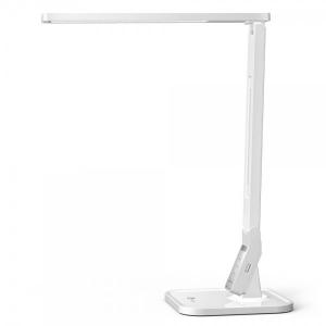 Lampa de birou LED TaoTronics TT DL02 control Touch, 4 moduri, 14W, USB - Alba [0]