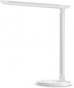 Lampa de birou LED TaoTronics TT DL13 control Touch, 5 moduri, Protectie Ochi - Silver - White [0]