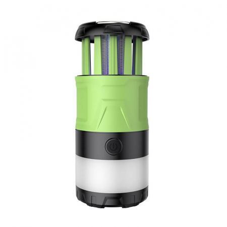 Lanterna LED SupFire T15, Pentru Camping, 500 lm, anti insecte,  incarcare USB, PowerBank , 5 moduri [0]