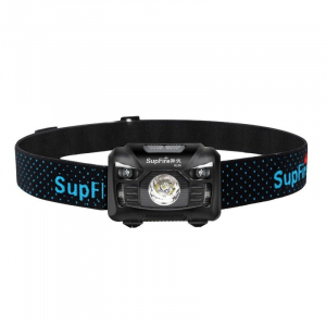 Lanterna pentru cap Supfire HL06, USB, 240lm, 300m [0]