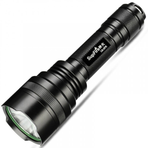 Lanterna Supfire C8-XPE, USB, 300lm, 300m [0]