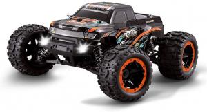 Masina cu Telecomanda Linxtech 16889A Monster Truck 46km/h, Motor Brushless, Off-Road Racing Tractiune 4X4, Scara 1:16 [0]