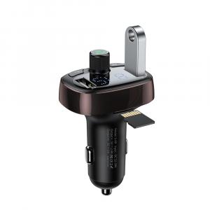 Modulator FM Baseus FM T-Type Bluetooth MP3 incarcator masina - CCALL-TM12 [0]
