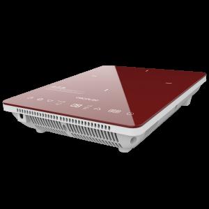 Plita cu inductie Cecotec Full Crystal Scarlet, 2000W, Touch control, 2000W, cu ecran digital, control tactil, 10 niveluri, Rosu [0]