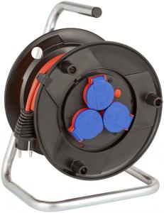 Prelungitor Exterior Brennenstuhl Garant cu  tambur cu priza multipla, 3 posturi, 20m, IP44 [0]